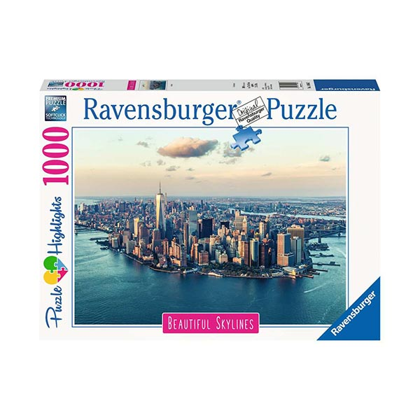 Puzzle 1000 Ravensburger 14086 New York