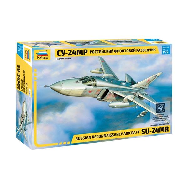 Zvezda 7268 1:72 Sukhoi Su-24MR Russian Fighter