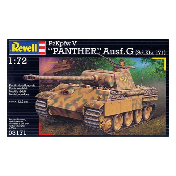 Revell 03171 1:72 PzKpfw V Panther Ausf.G