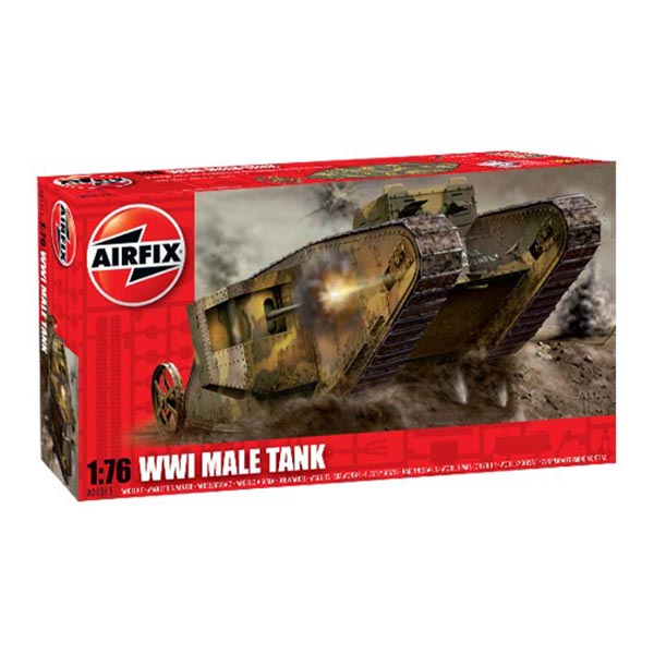 "Airfix 01315 1:76 WWI ""Male"" tank"