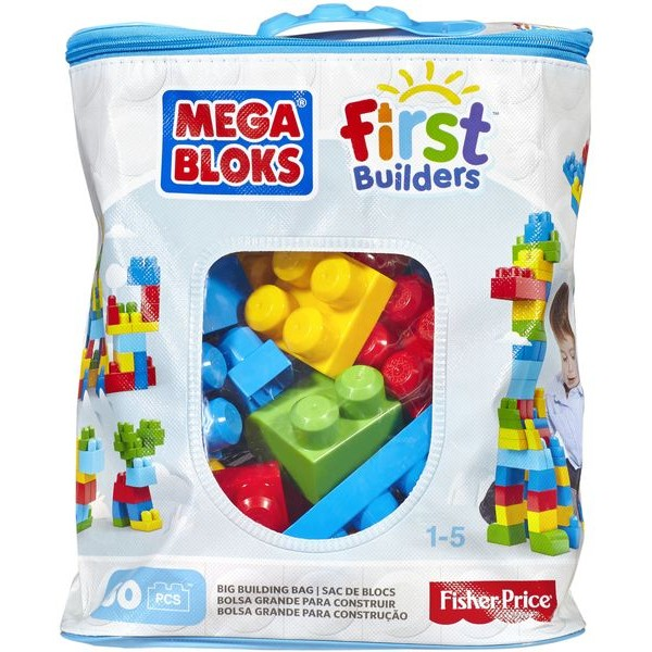 Mega Bloks DCH55 First Builders Big Building Bag Boys 60