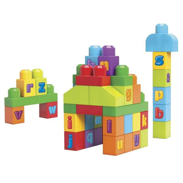 Mega Bloks DKX58 First Builders ABC kocky