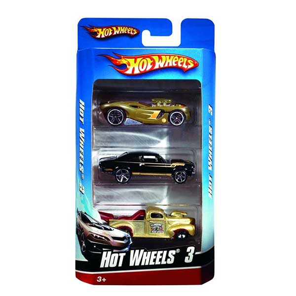 Hot Wheels Set 3 autíčok