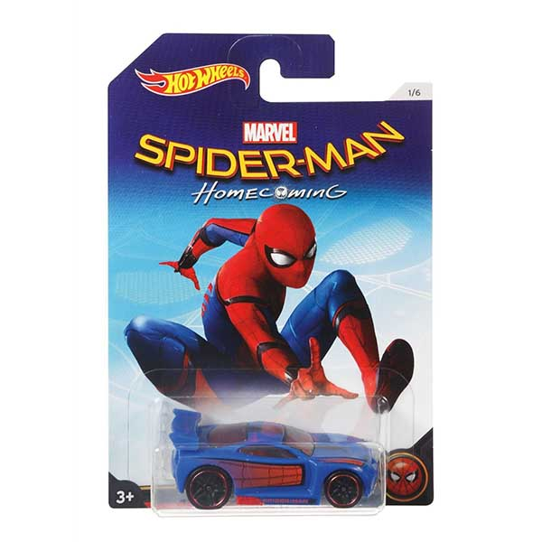 Hot Wheels DWD17 DWD14 Spiderman Homecoming Power Rage