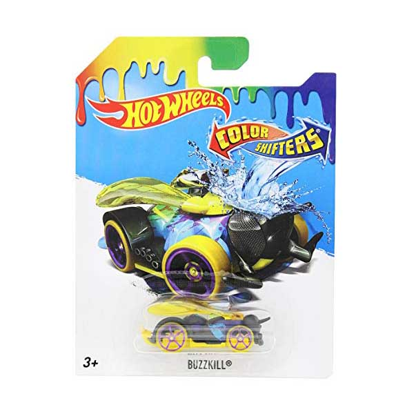 Hot Wheels BHR56 BHR15 Color Shifters HWTF Buzzkill
