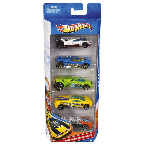Hot Wheels Set 5 autíčok