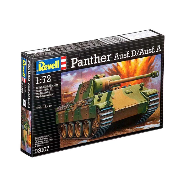 Revell  03107 1:72 PzKpfw. V Panther Ausf. D/Ausf. A