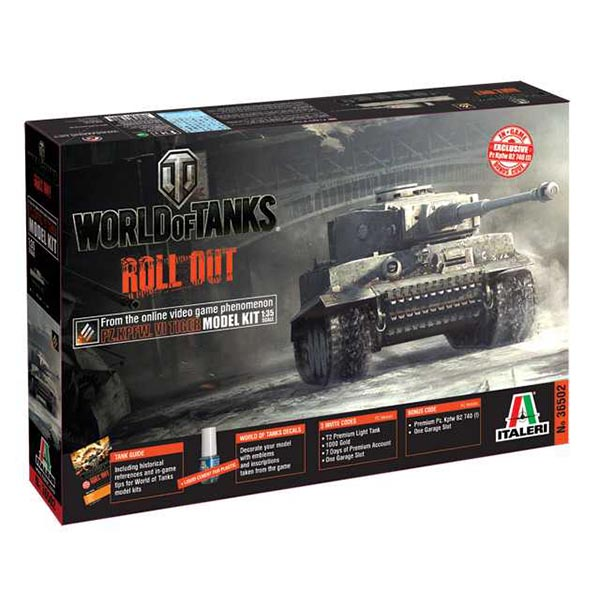Italeri 36502 1:35 World of Tanks - Pz.Kpfw.VI TIGER I