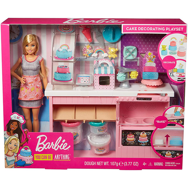 Barbie GFP59 Cukrárstvo herný set